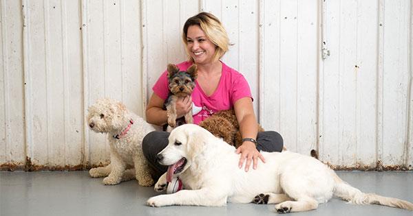 Francine Coughlin, owner of Bark n' Roll